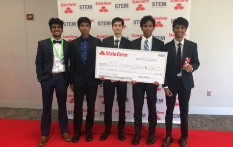 Students victorious in competition at State Farm