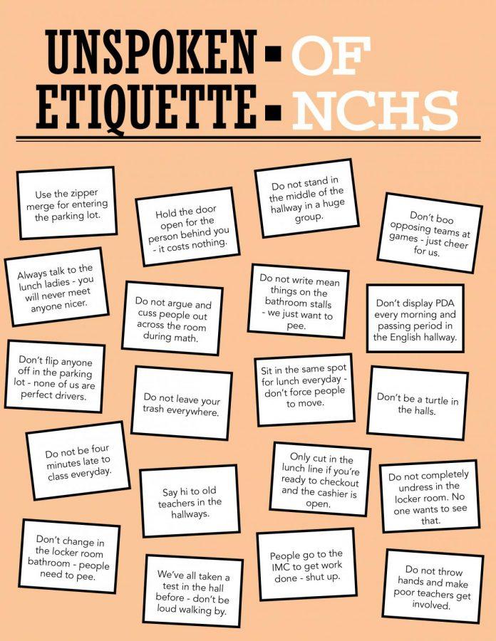 Unspoken etiquette of NCHS