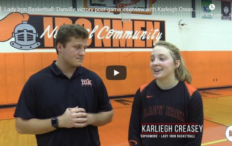 Creasey reacts to game winner over Danville [video]