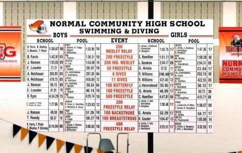 Lady Iron swim & dive seniors cap off  their athletic careers