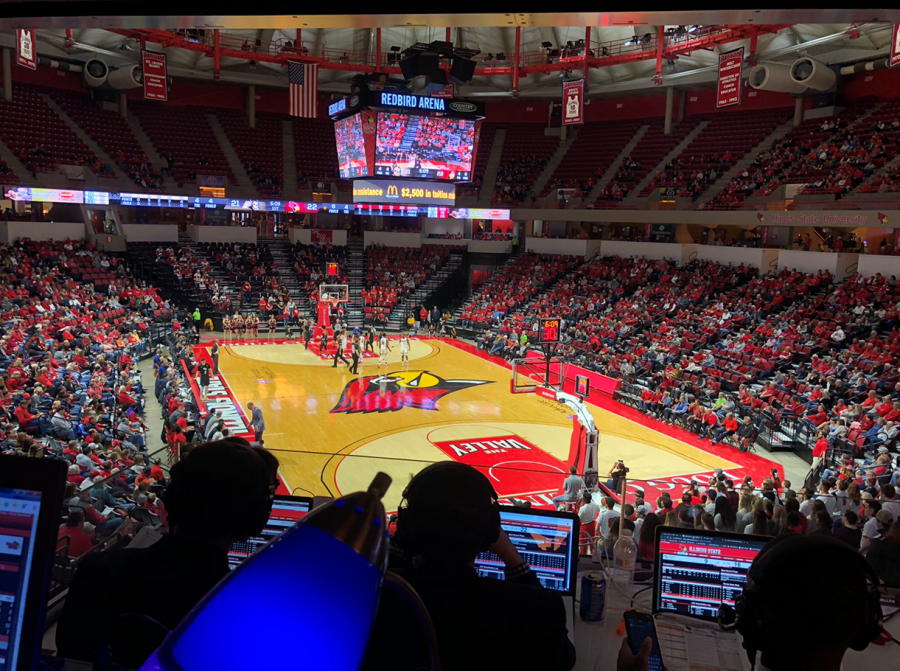 Redbirds approach their 10th game of the 2019-2020 season.