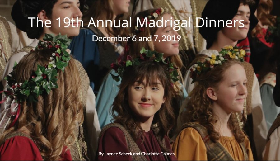 Madrigals host 19th annual dinner performances
