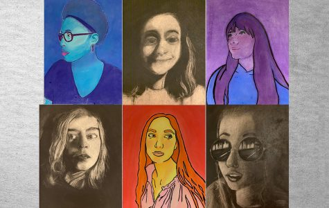 NCHS Artists on self-portraits