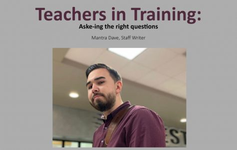 Teachers in Training: Aske-ing the right questions