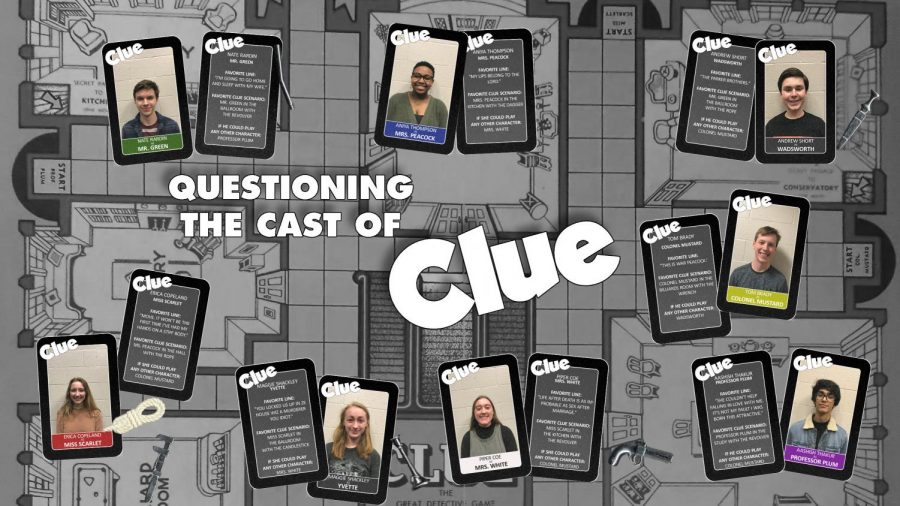 Questioning the cast of 'Clue'