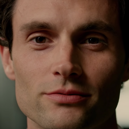 An up close look at Joe Goldberg (Penn Badgley).