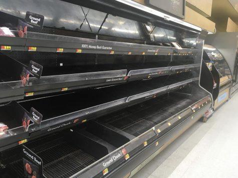 Coronavirus impacts grocers shelves [photo gallery]