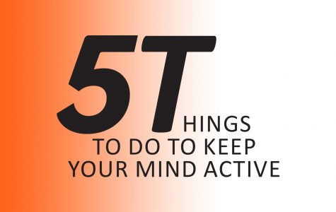 5 Things to do to keep your mind active