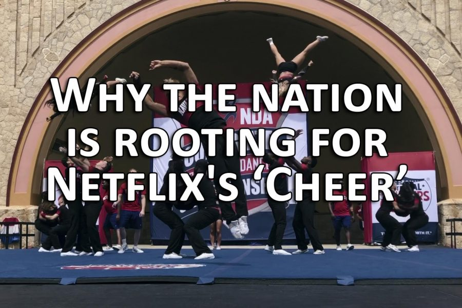 Why the nation is rooting  for Netflix's 'Cheer'