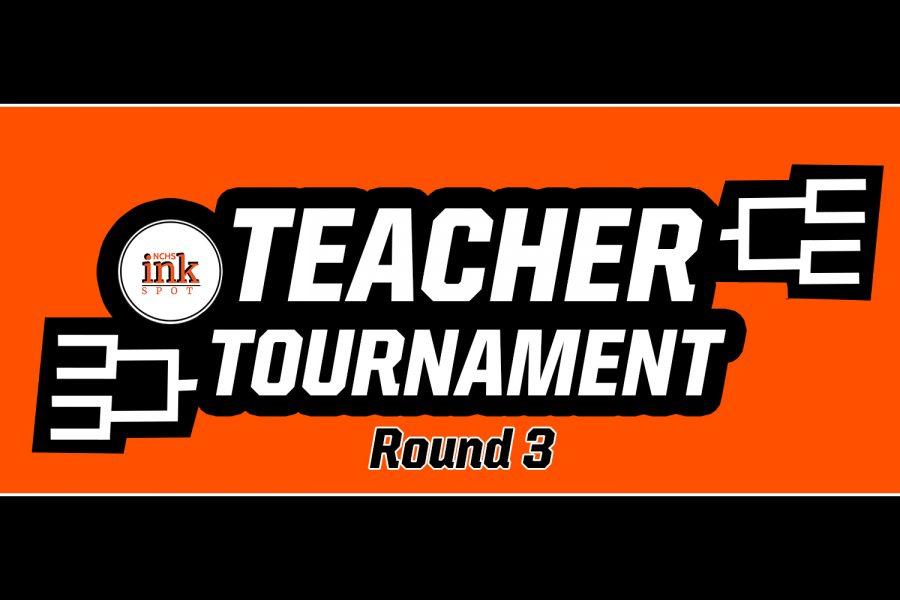 Round Three Update: NCHS' Favorite Teacher - March Madness