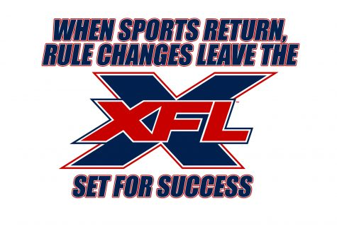 When sports return, rule changes set the XFL up for success