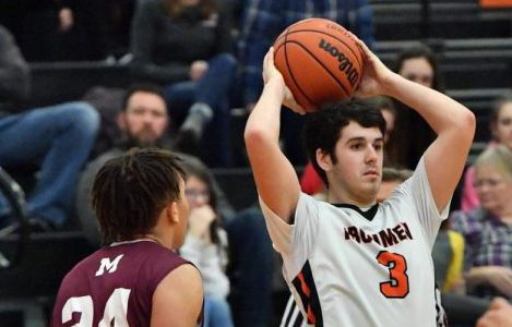 Boys basketball: Ironmen avoid upset, break playoff losing streak