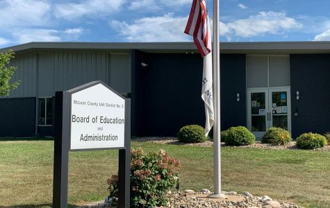 The Unit 5 District Office was closed Monday, August 31 for a deep cleaning before reopening on Tuesday.