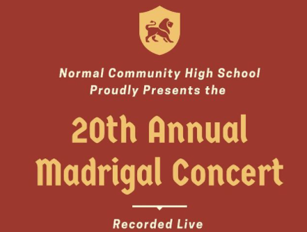 The Madrigals 20th-anniversary show was recorded live on the last day of in-person learning during fall semester in place of the traditional dinner and dessert shows.