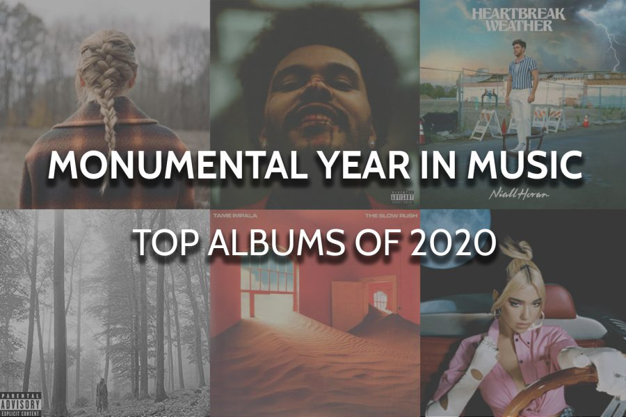 While the Grammy Awards have been postponed, take a look at the Inkspot's picks for the best albums of 2020