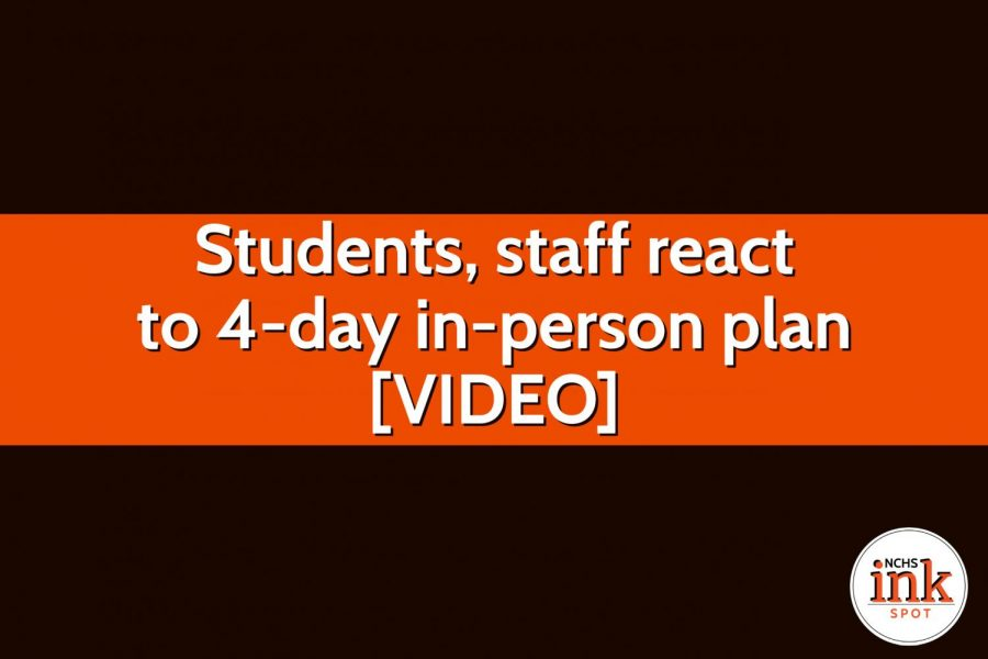 Students, staff react to 4-day in-person plan [VIDEO]