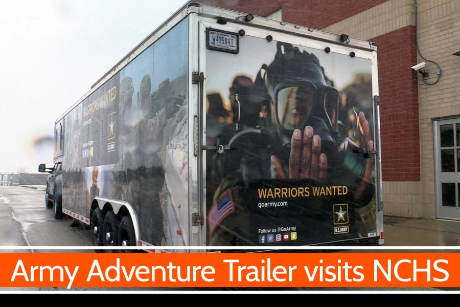 Army Adventure Trailer visits NCHS [video]