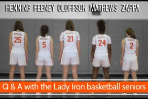 Q & A with the Lady Iron basketball seniors [video]