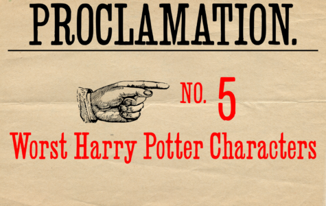 Counting down the top five worst 'Harry Potter' characters