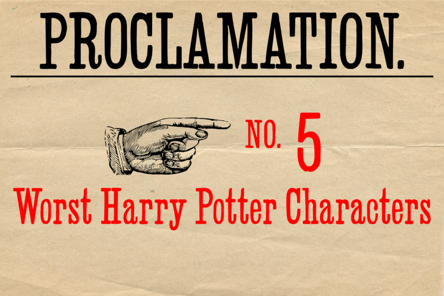 Counting down the top five worst Harry Potter characters