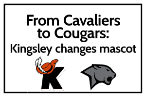From Cavaliers to Cougars: Kingsley changes mascot