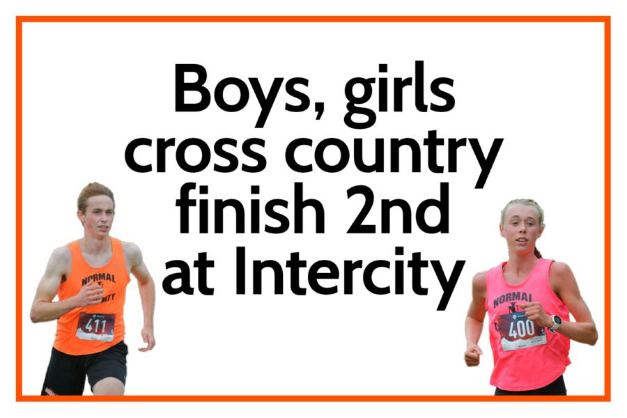 Boys, girls cross country finish 2nd at Intercity