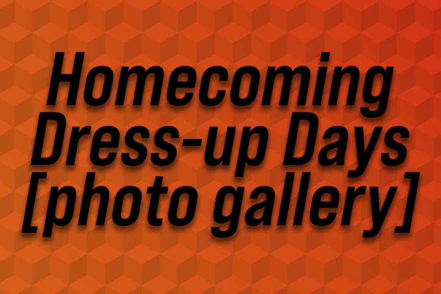 Homecoming dress-up days [photo gallery]