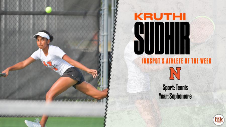 Athlete of the Week: Kruthi Sudhir